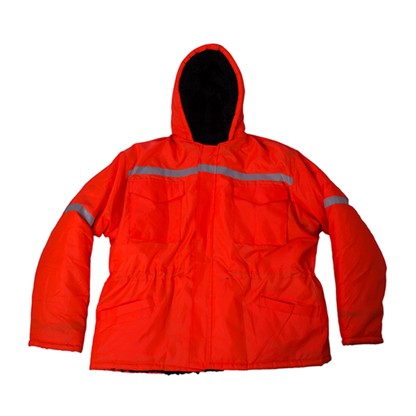 Picture of Orange Parka Jacket