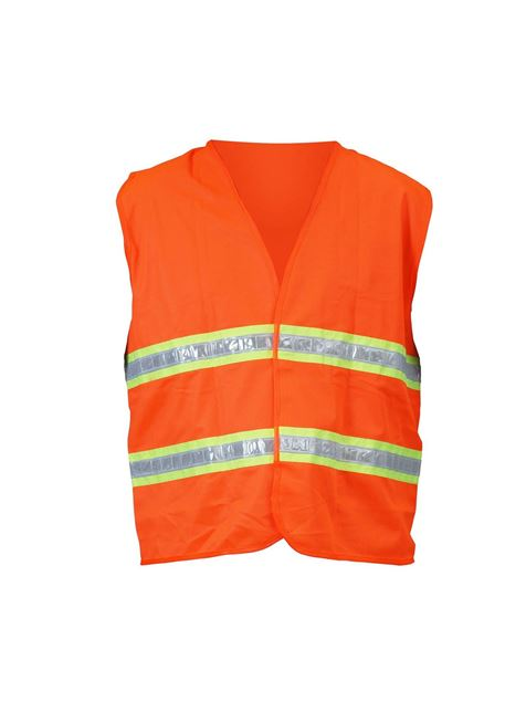 Picture of ORANGE VEST WITH DOUBLE REFLECTOR