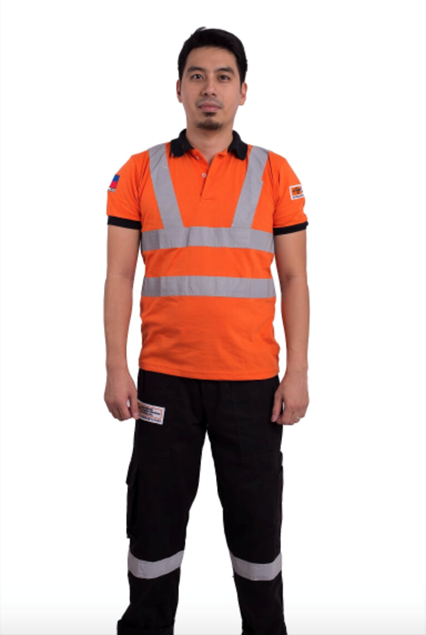 Picture of REFLECTIVE POLO SHIRT